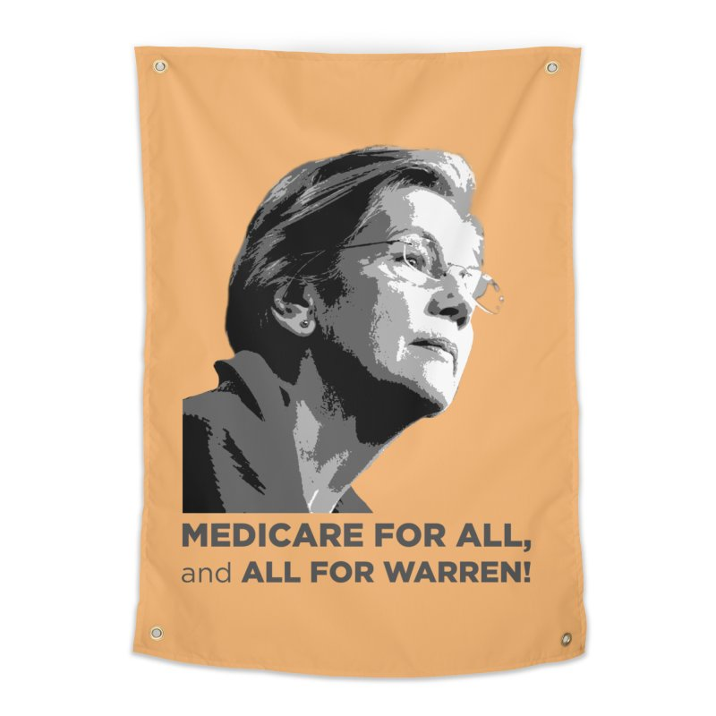 All for Warren Home Tapestry by Resistance Merch