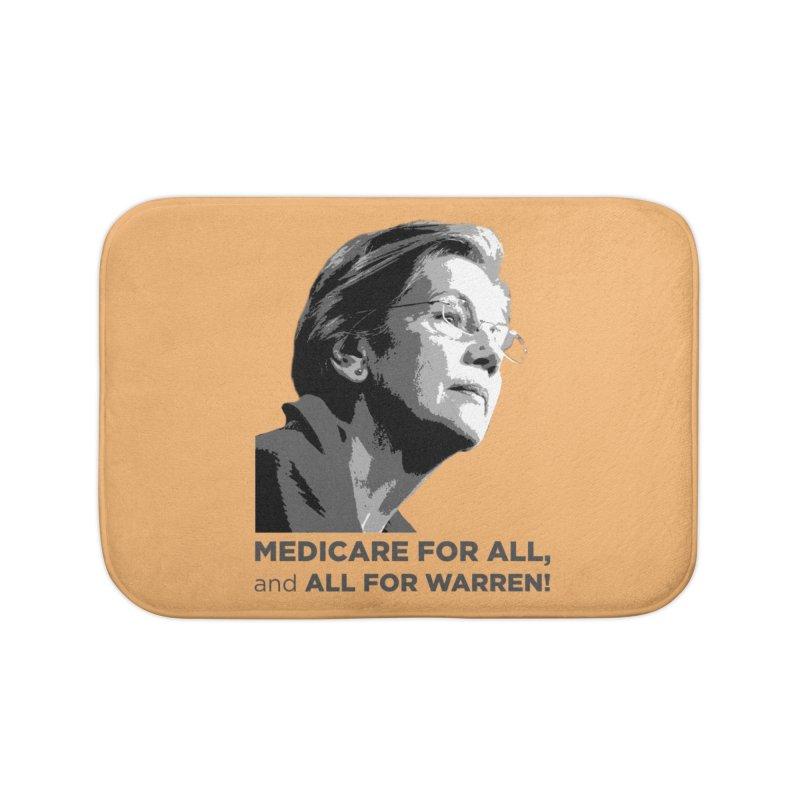 All for Warren Home Bath Mat by Resistance Merch