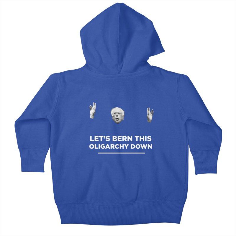 The Bern is Back Kids Baby Zip-Up Hoody by Resistance Merch