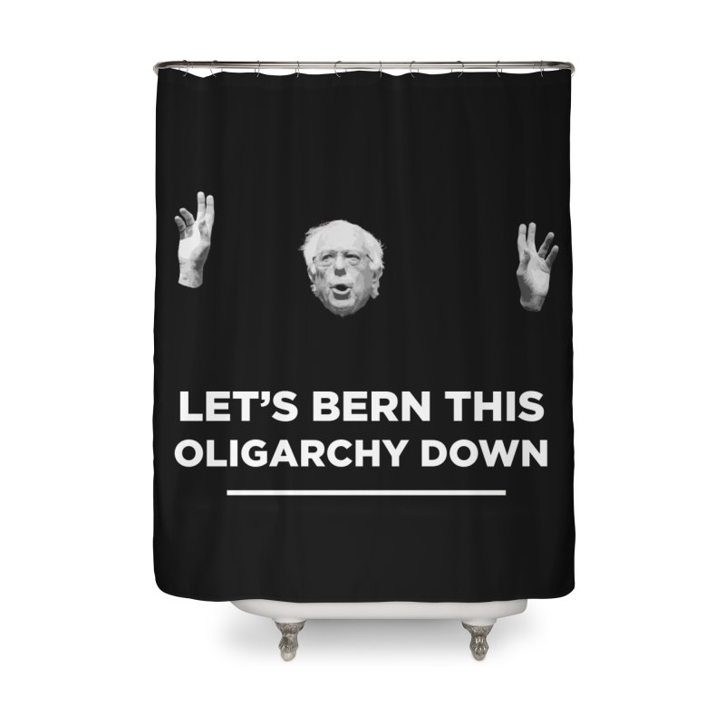 The Bern is Back Home Shower Curtain by Resistance Merch