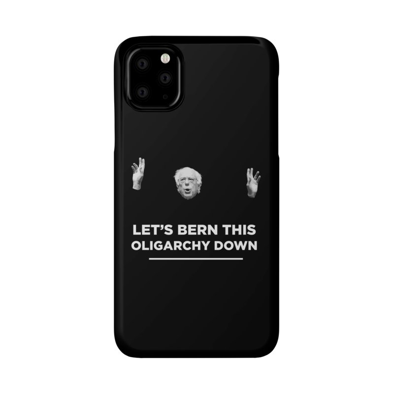 The Bern is Back Accessories Phone Case by Resistance Merch