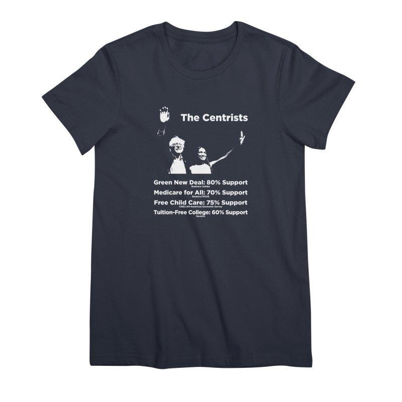 The Centrists Women's Premium T-Shirt by Resistance Merch