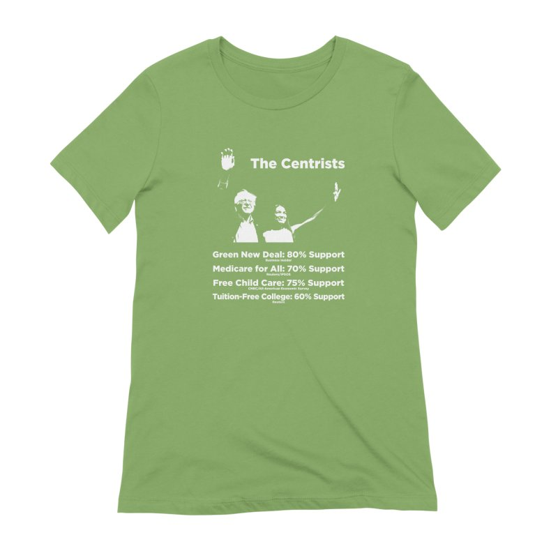 The Centrists Women's Extra Soft T-Shirt by Resistance Merch
