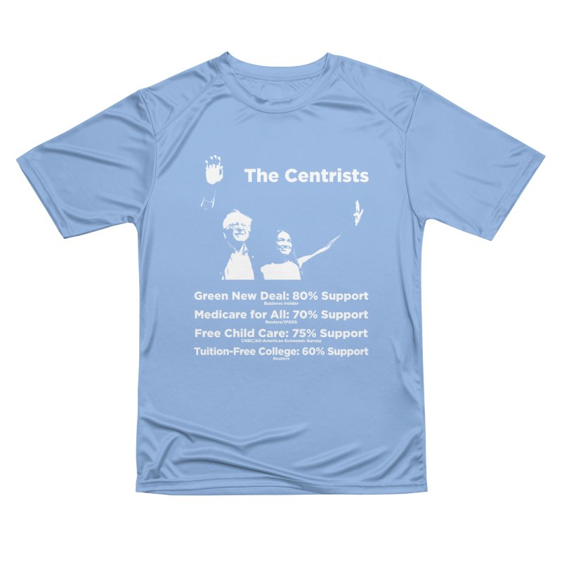 The Centrists Men's Performance T-Shirt by Resistance Merch