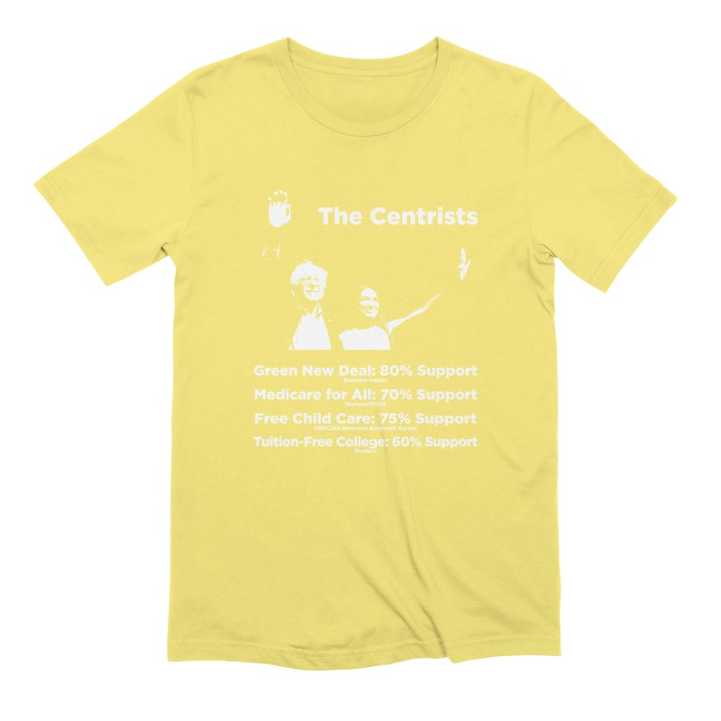 The Centrists Men's Extra Soft T-Shirt by Resistance Merch