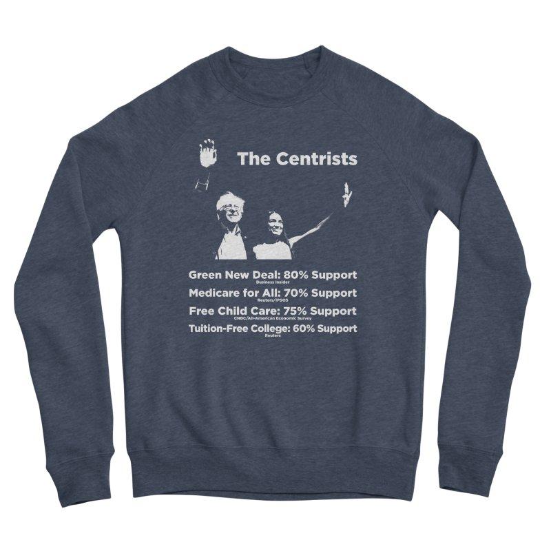 The Centrists Women's Sponge Fleece Sweatshirt by Resistance Merch