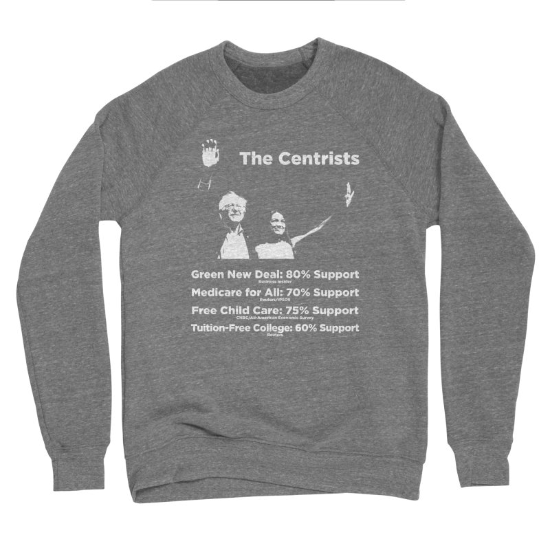 The Centrists Women's Sponge Fleece Sweatshirt by Resistance Merch