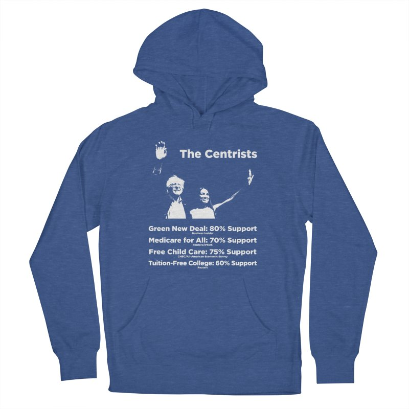 The Centrists Men's French Terry Pullover Hoody by Resistance Merch
