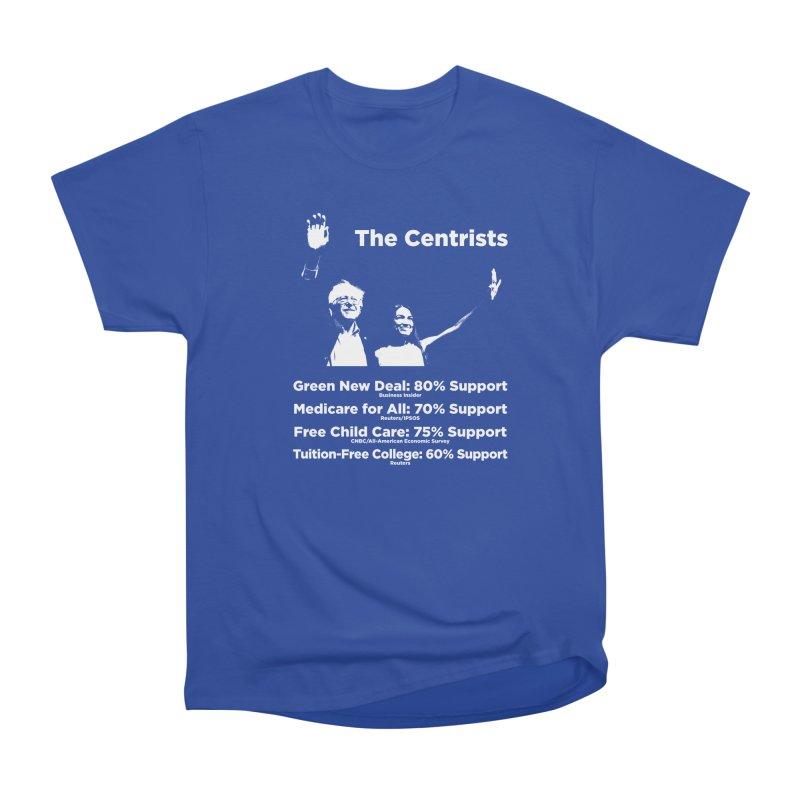 The Centrists Women's Heavyweight Unisex T-Shirt by Resistance Merch