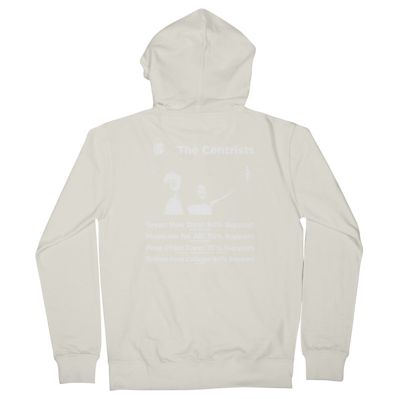 The Centrists Women's French Terry Zip-Up Hoody by Resistance Merch
