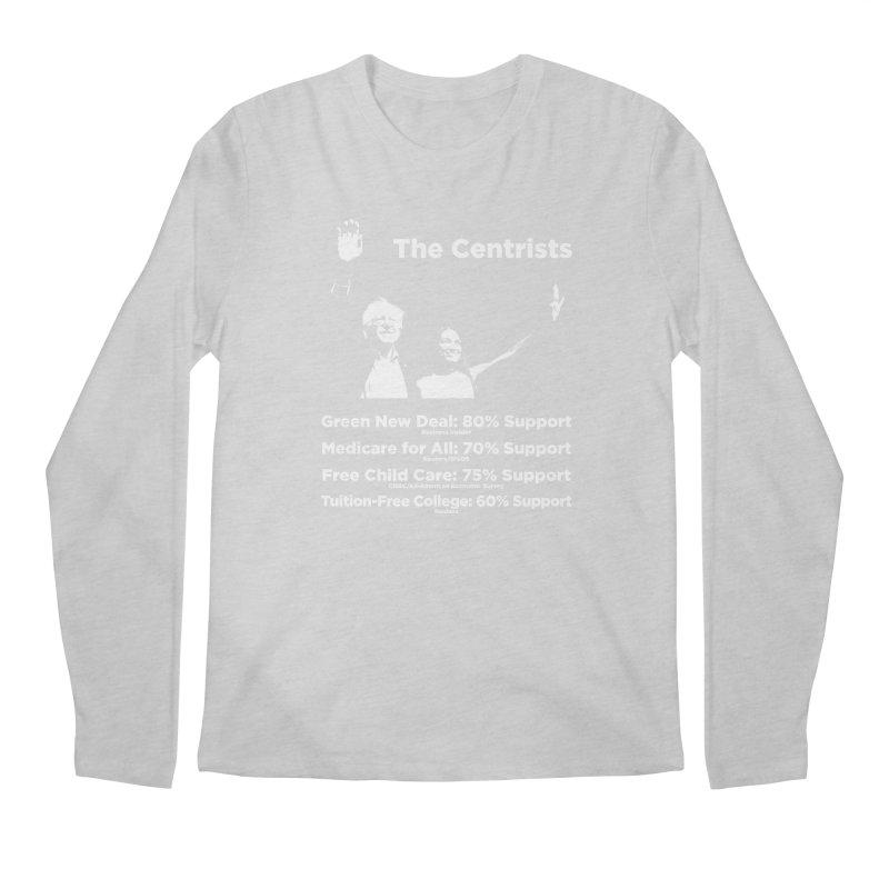 The Centrists Men's Regular Longsleeve T-Shirt by Resistance Merch