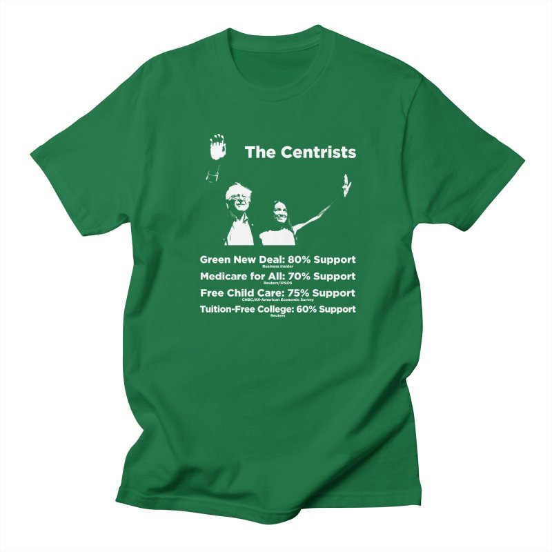 The Centrists Men's Regular T-Shirt by Resistance Merch