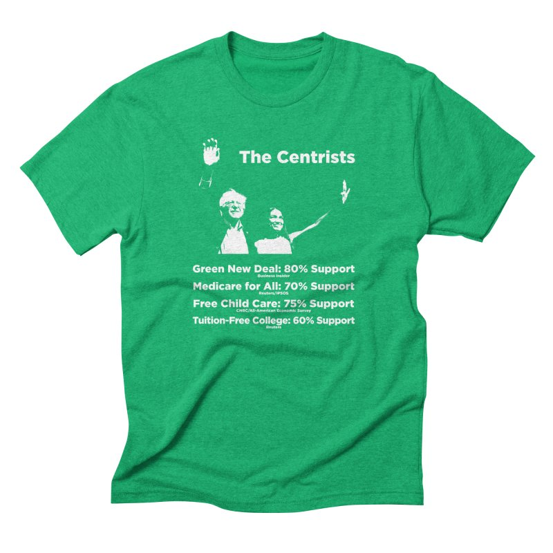 The Centrists Men's T-Shirt by Resistance Merch