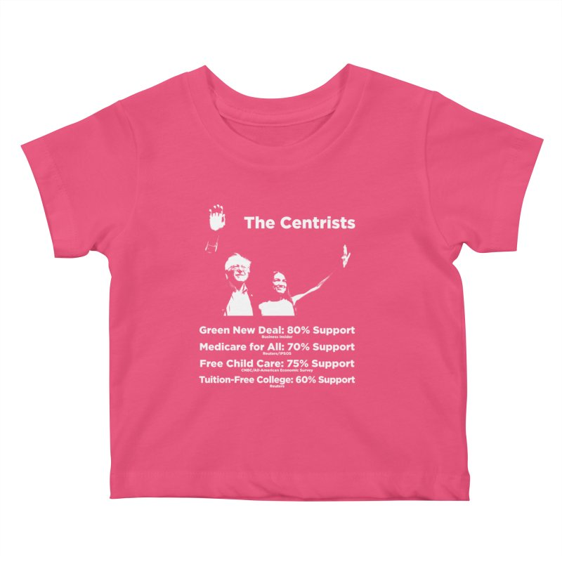 The Centrists Kids Baby T-Shirt by Resistance Merch