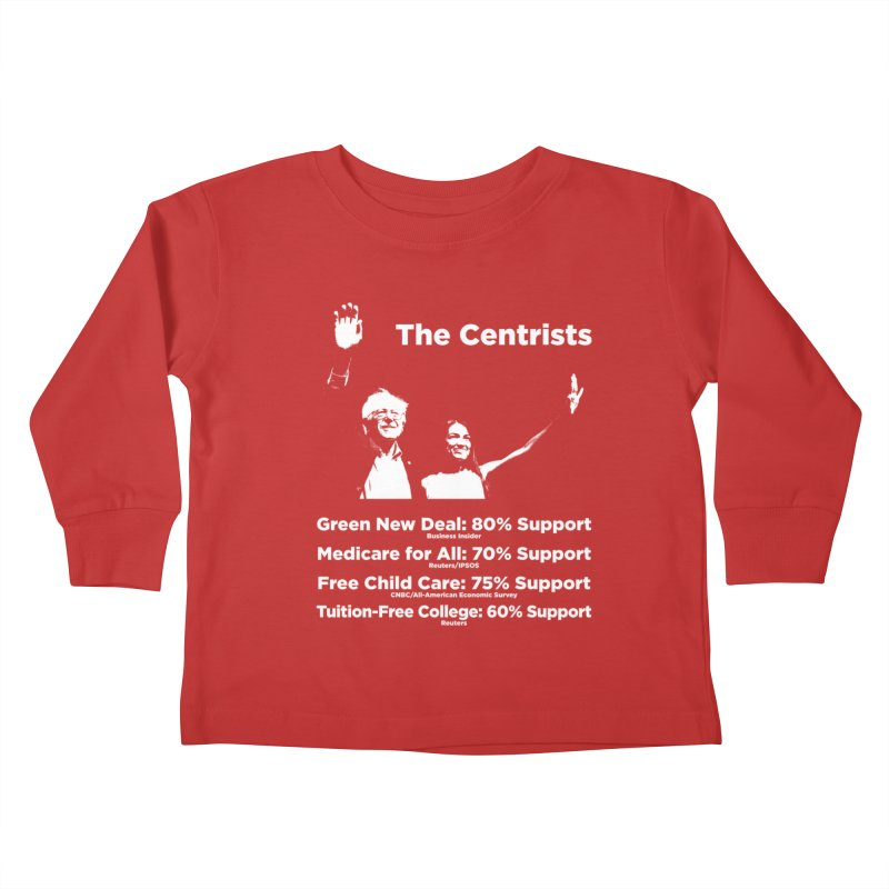 The Centrists Kids Toddler Longsleeve T-Shirt by Resistance Merch