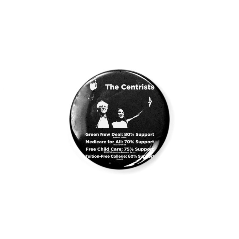 The Centrists Accessories Button by Resistance Merch