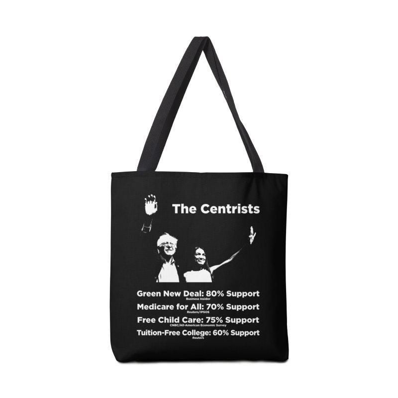 The Centrists Accessories Tote Bag Bag by Resistance Merch