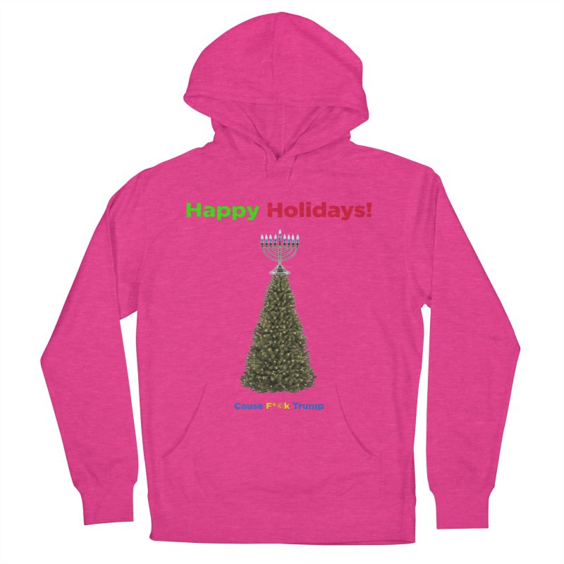 Happy Holidays! Men's French Terry Pullover Hoody by Resistance Merch