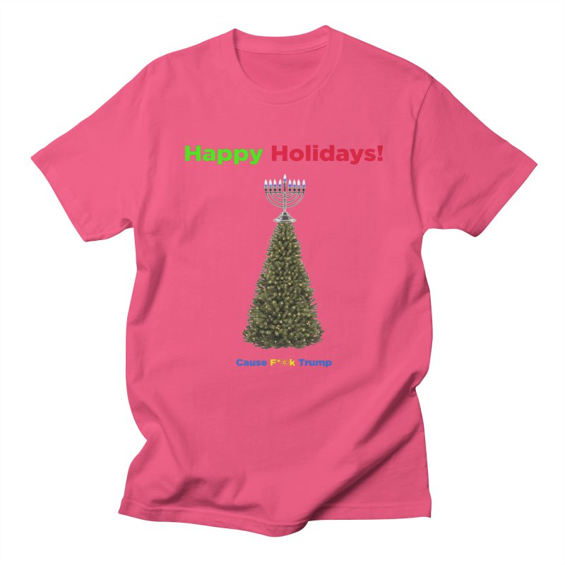 Happy Holidays! Men's Regular T-Shirt by Resistance Merch