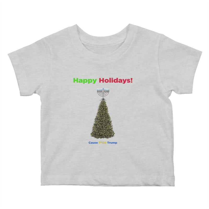Happy Holidays! Kids Baby T-Shirt by Resistance Merch