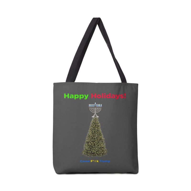 Happy Holidays! Accessories Tote Bag Bag by Resistance Merch