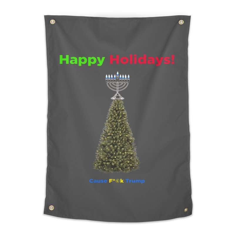 Happy Holidays! Home Tapestry by Resistance Merch