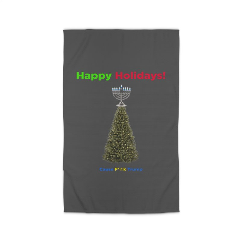 Happy Holidays! Home Rug by Resistance Merch
