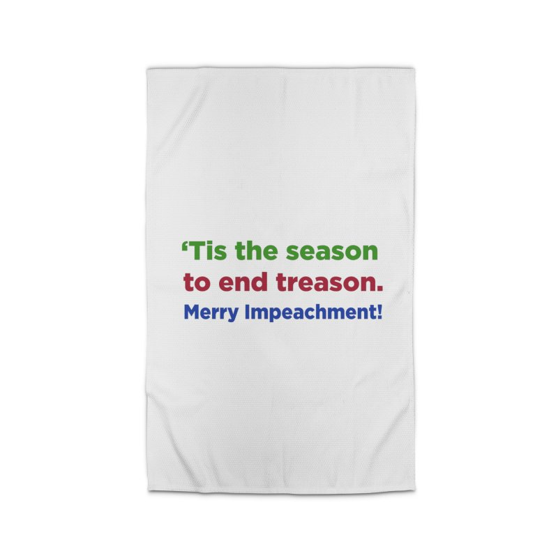 'Tis the Season to End Treason Home Rug by Resistance Merch