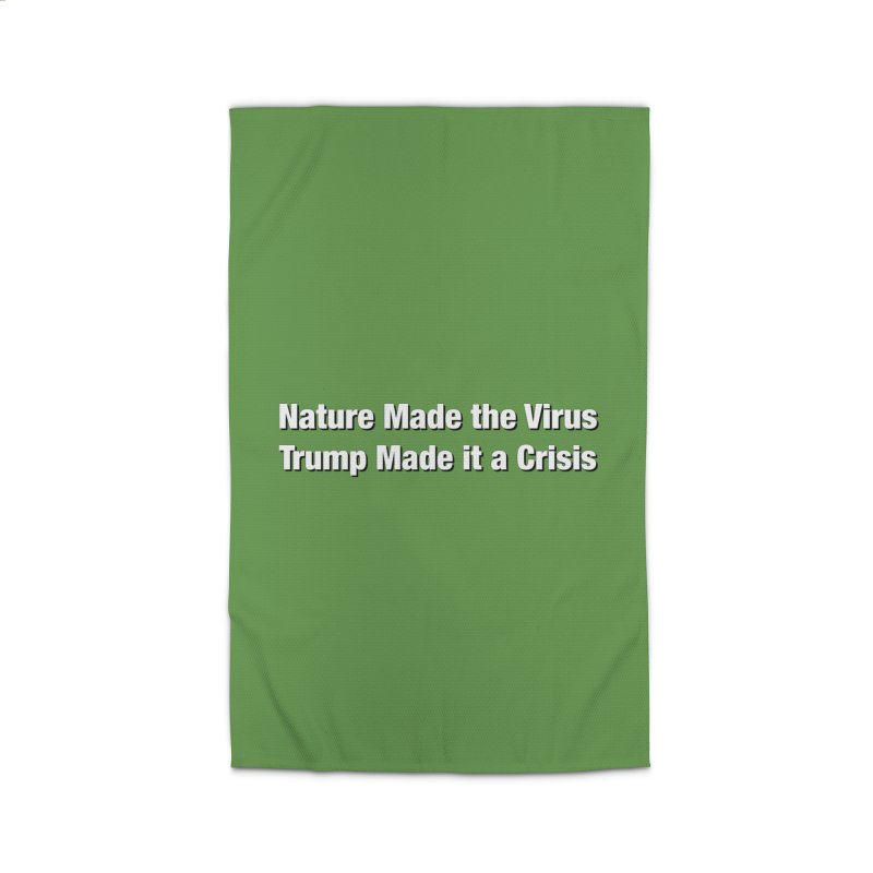 The Virus Crisis Home Rug by Resistance Merch