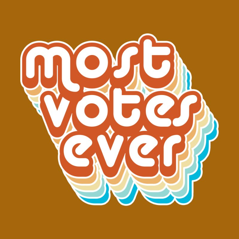 Most. Votes. Ever. Accessories Beach Towel by Resistance Merch