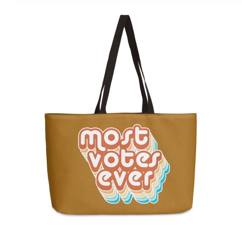 Most. Votes. Ever. Accessories Bag by Resistance Merch