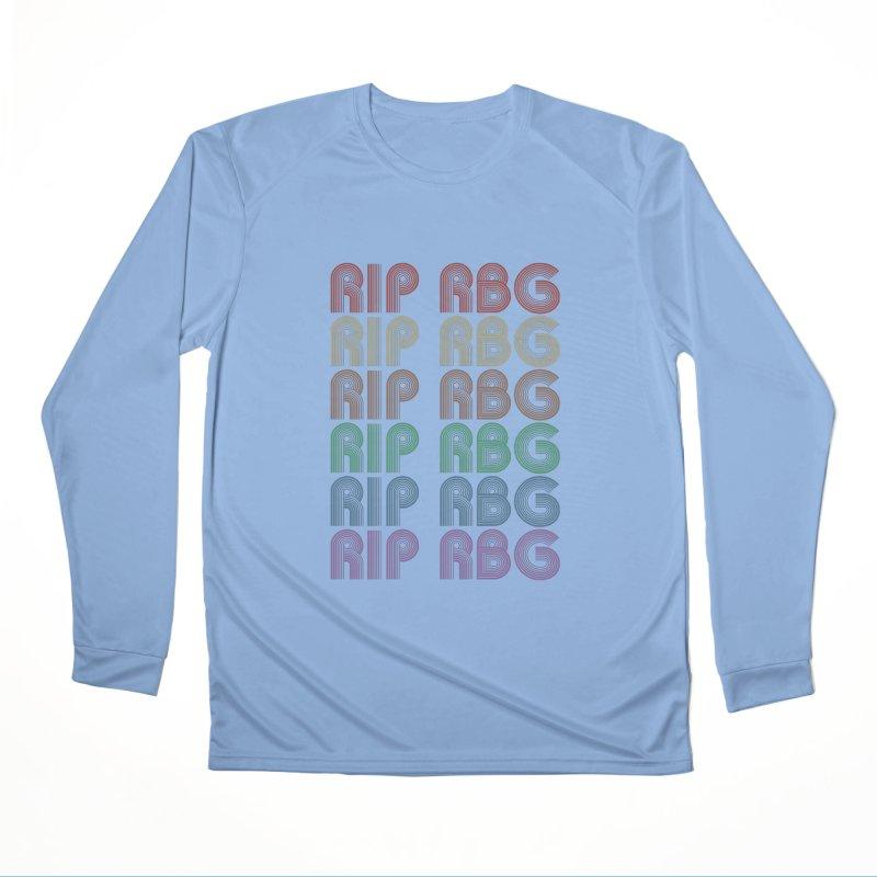 RIP RBG Men's Longsleeve T-Shirt by Resistance Merch