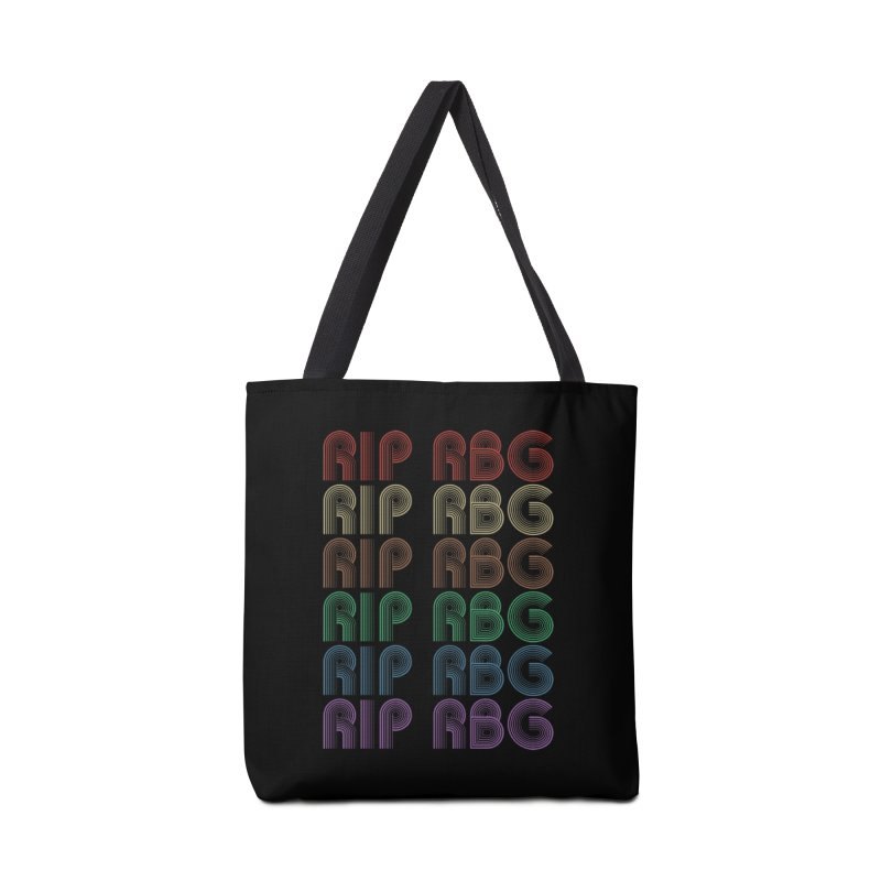 RIP RBG Accessories Bag by Resistance Merch