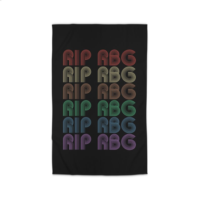 RIP RBG Home Rug by Resistance Merch