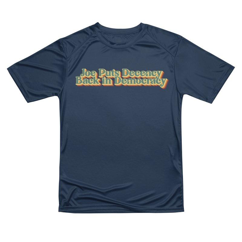 A Decent Democracy Men's T-Shirt by Resistance Merch
