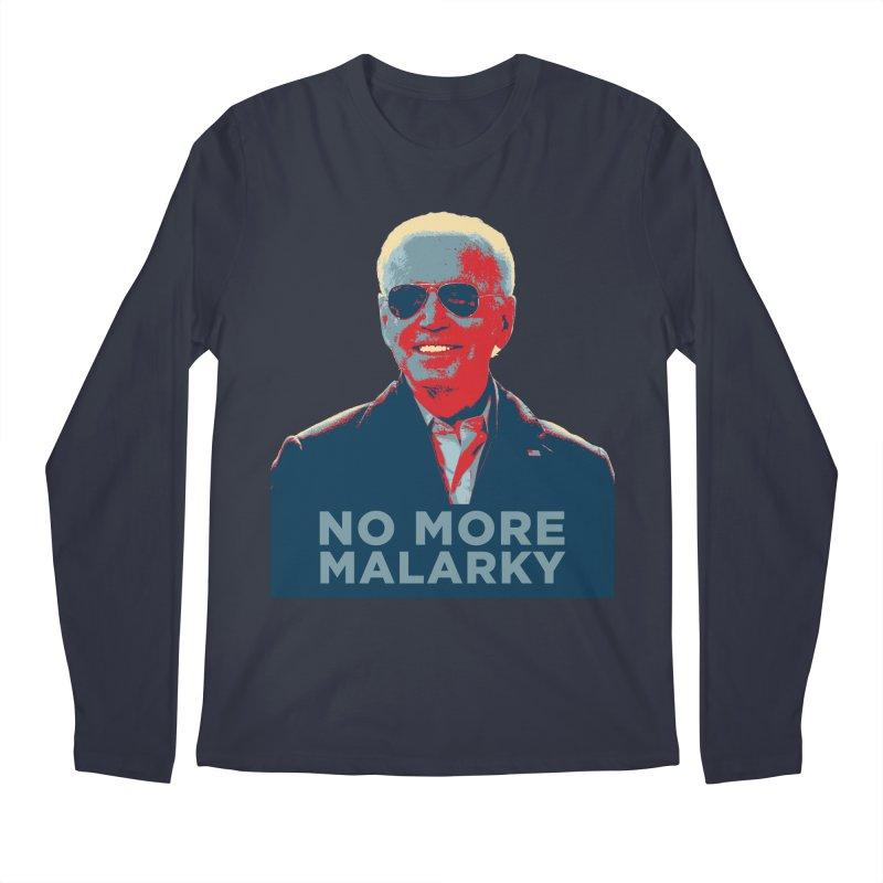 No More Malarky Men's Longsleeve T-Shirt by Resistance Merch
