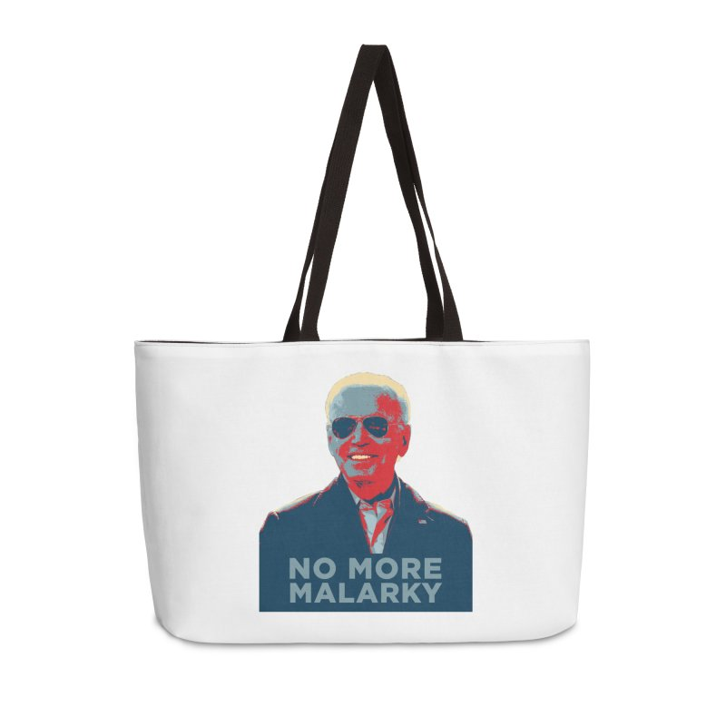No More Malarky Accessories Bag by Resistance Merch