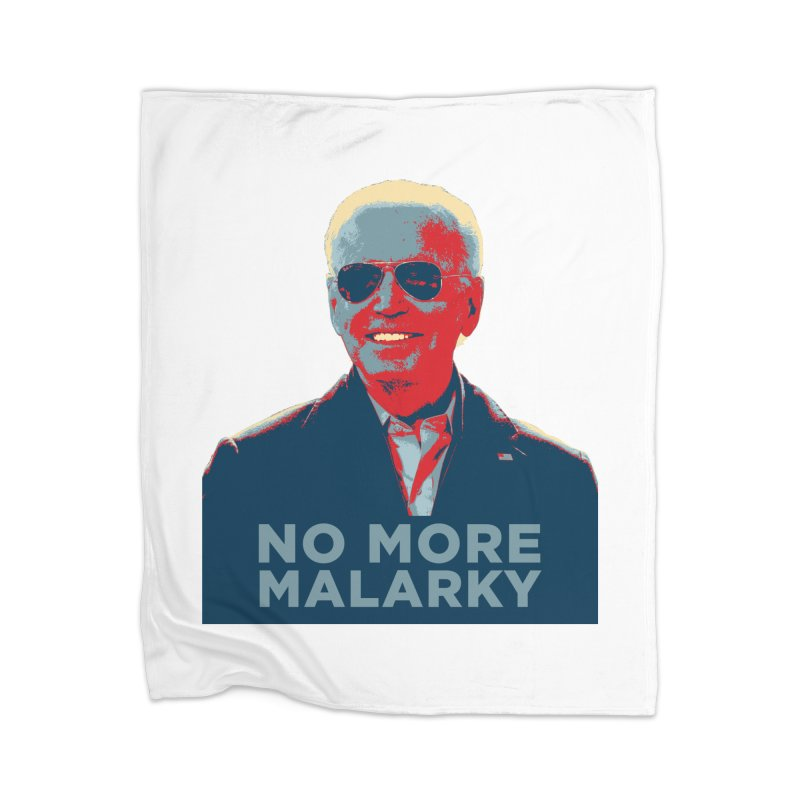 No More Malarky Home Blanket by Resistance Merch