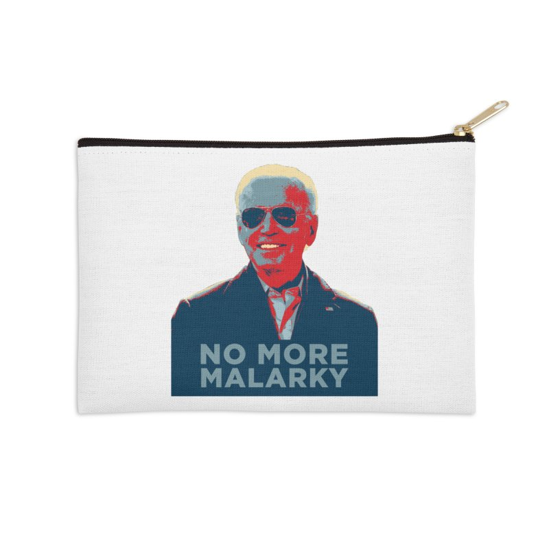 No More Malarky Accessories Zip Pouch by Resistance Merch