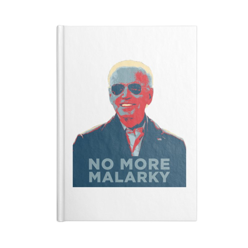 No More Malarky Accessories Notebook by Resistance Merch