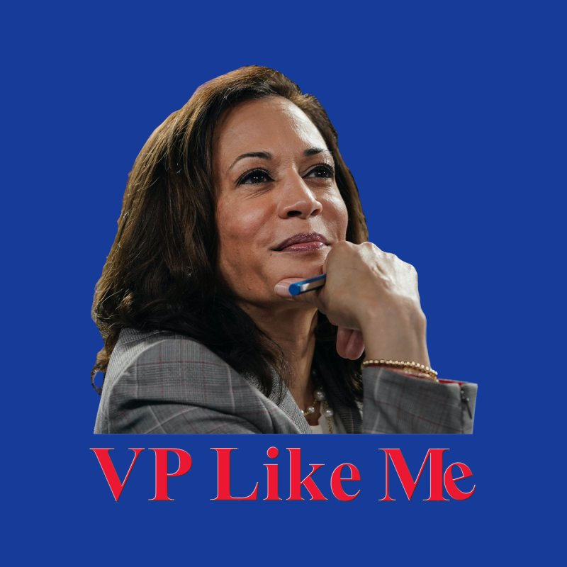 VP Like Me Accessories Greeting Card by Resistance Merch
