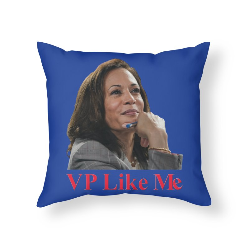 VP Like Me Home Throw Pillow by Resistance Merch