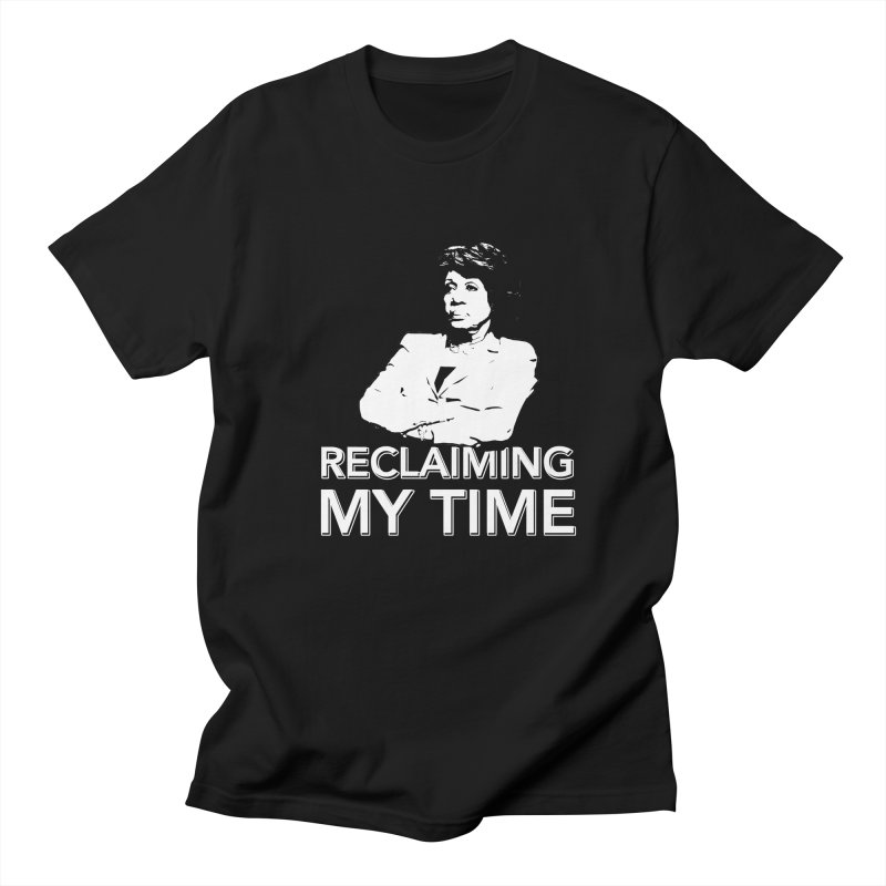 Reclaiming My Time Men's Regular T-Shirt by Resistance Merch