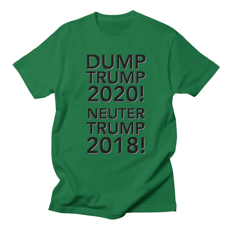 Dump Trump Men's Regular T-Shirt by Resistance Merch