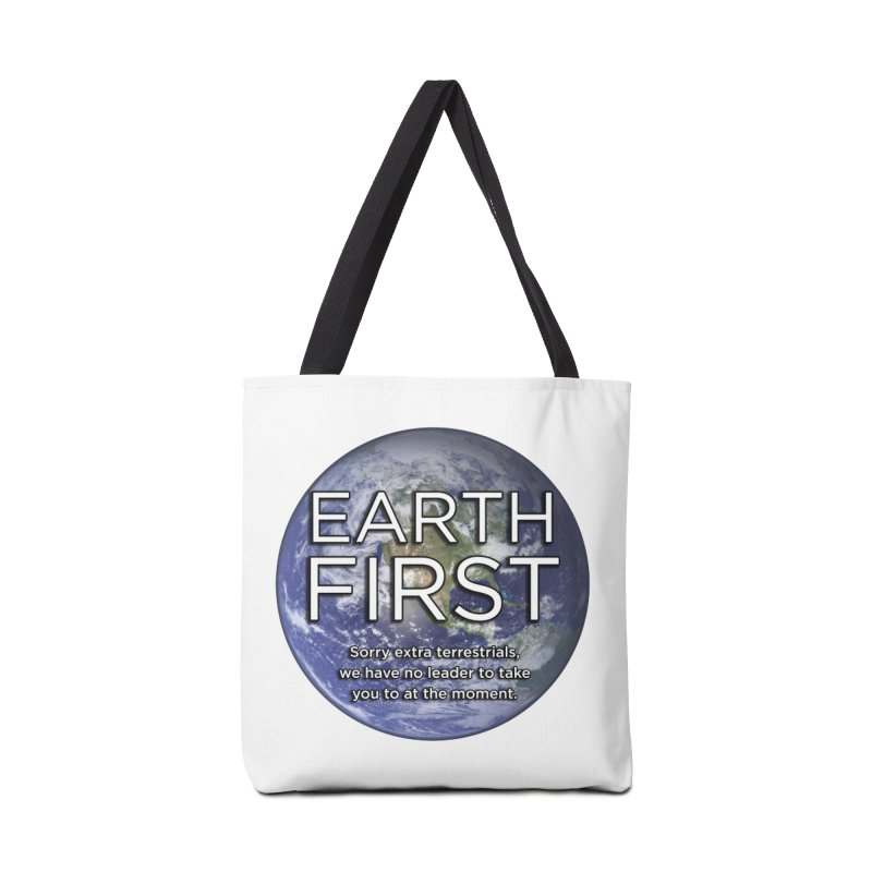 Earth First Accessories Tote Bag Bag by Resistance Merch