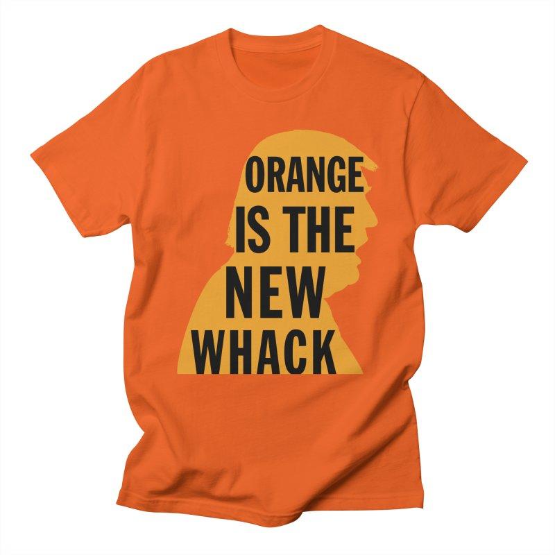 Orange is the New Whack Men's Regular T-Shirt by Resistance Merch