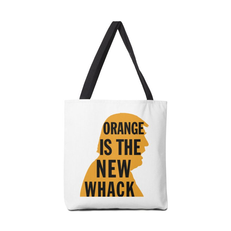 Orange is the New Whack Accessories Tote Bag Bag by Resistance Merch