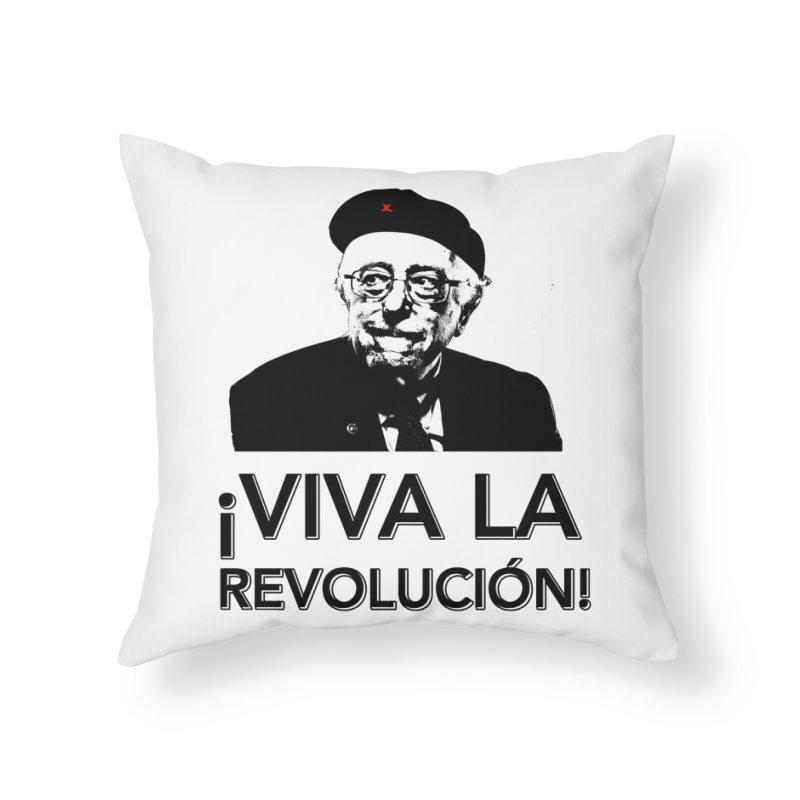 Bernie Guevara Home Throw Pillow by Resistance Merch