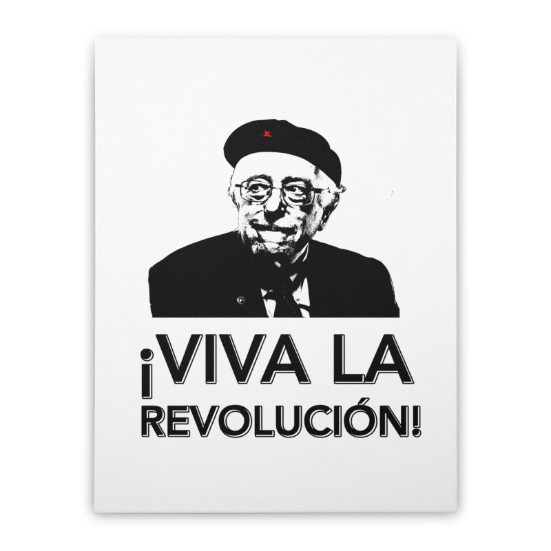 Bernie Guevara Home Stretched Canvas by Resistance Merch