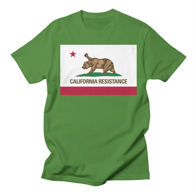 California Resistance Men's Regular T-Shirt by Resistance Merch